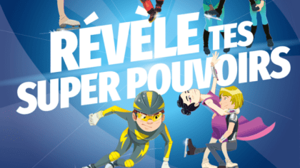 Disclose your superpowers: the back-to-school marketing campaign of the French Ice Sports activities Federation