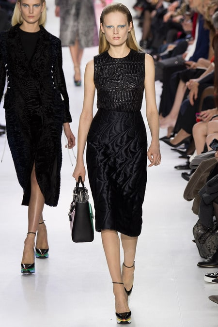 Bright Colors And Embroidery From The Christian Dior Fall