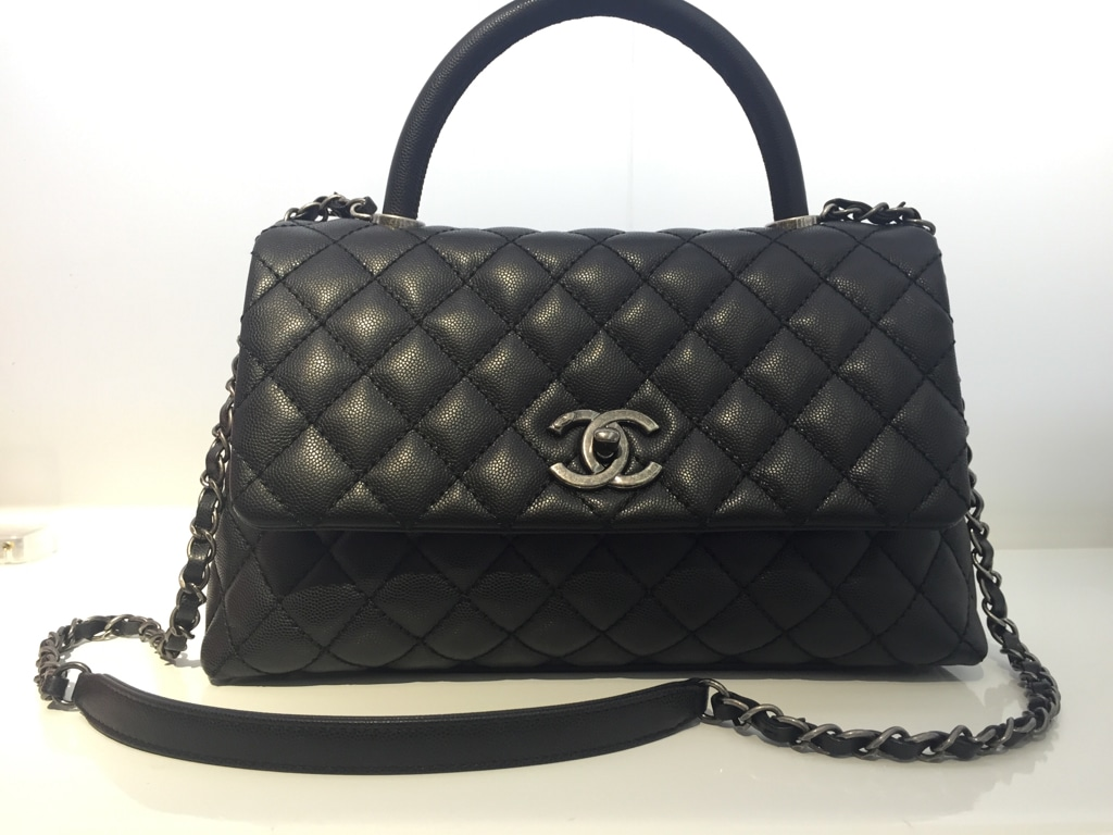 Chanel Coco Handle Bag Reference Guide – Spotted Fashion
