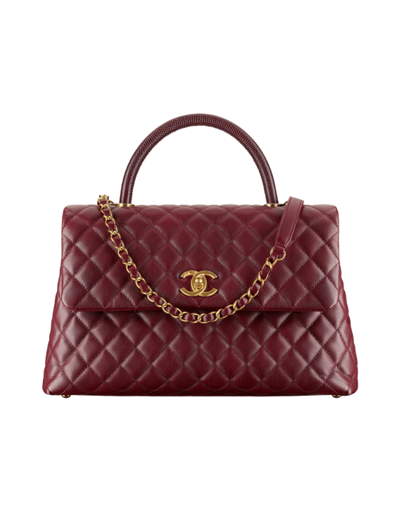Chanel Coco Handle Bag Reference Guide   Spotted Fashion