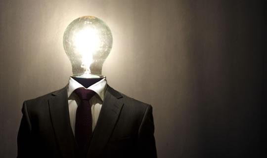 Thinking Light Bulb