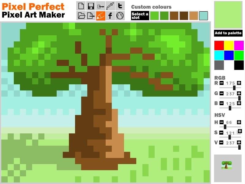 24x24 Art Creator Pixel