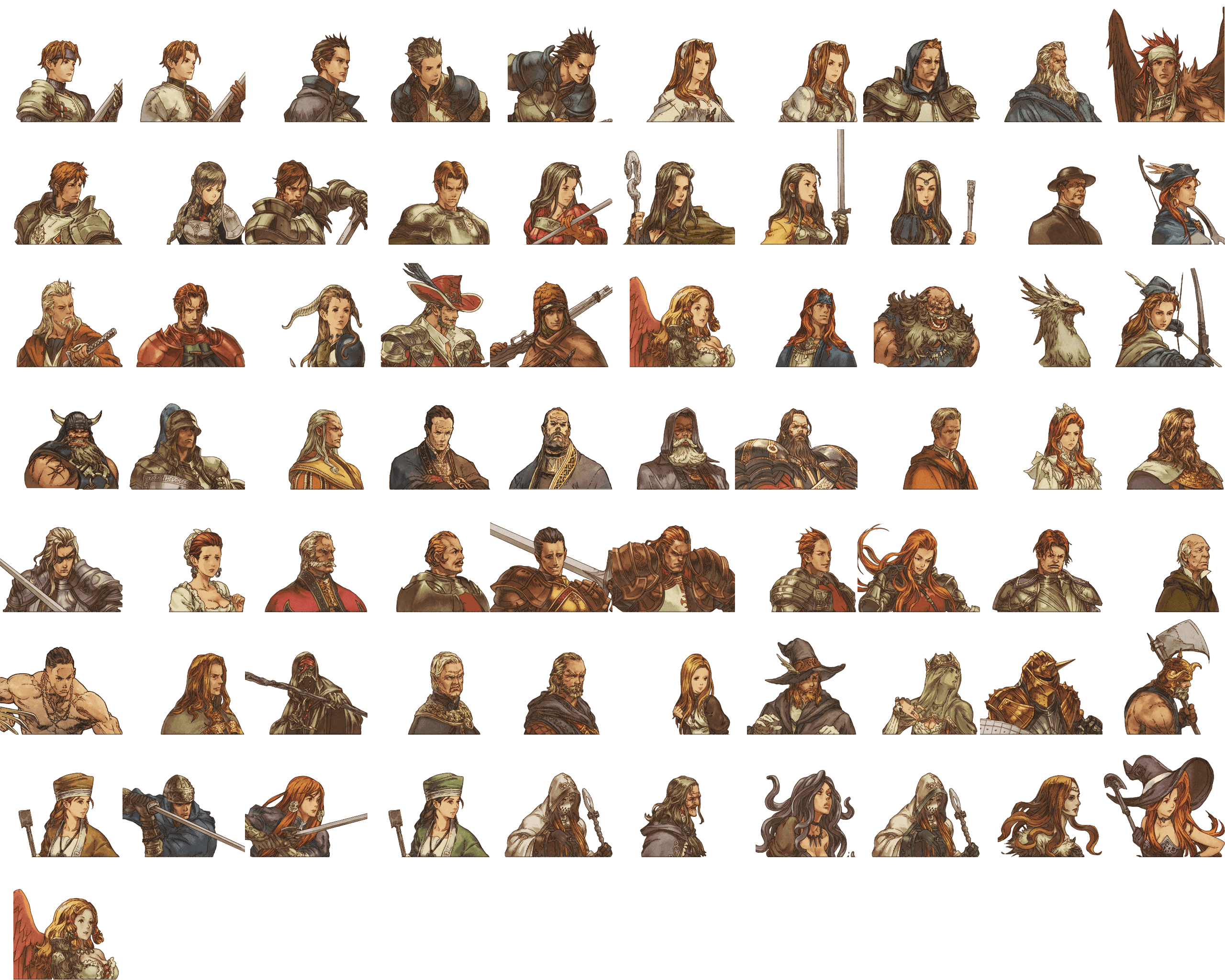 Undertaker Sprite Characters Together