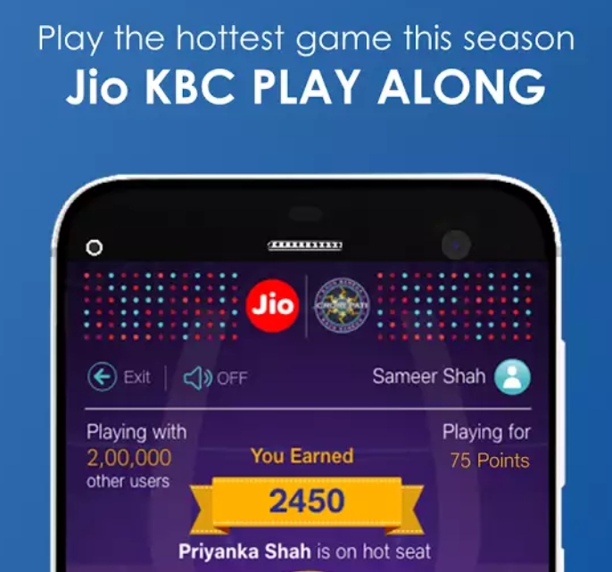kbc jackpot question today