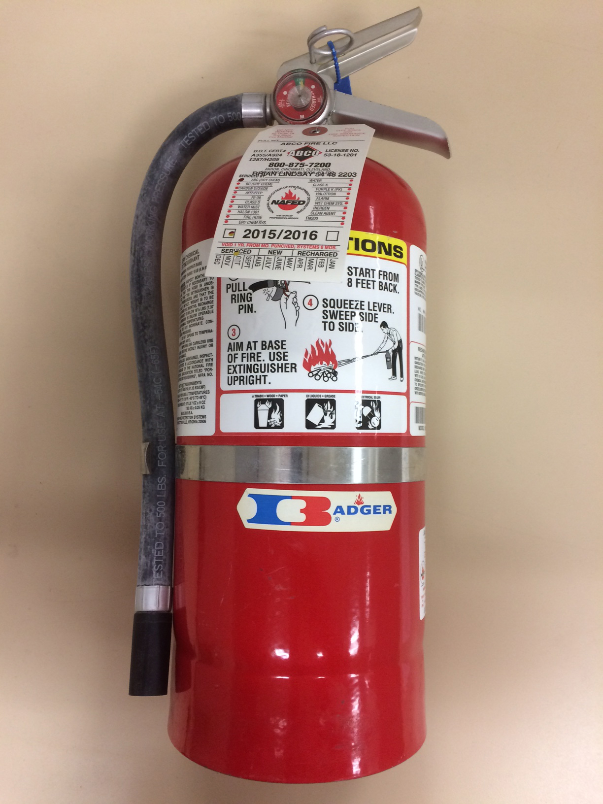 Fire Extinguisher Inspections & Testing - SSOE Group