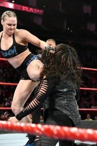 VIDEO: Ronda Rousey & Ember Moon vs. Nia Jax & Tamina: Raw, Dec. 3, 2018
