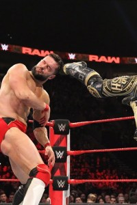 Finn Balor vs Lio Rush – RAW, Feb. 4 2019