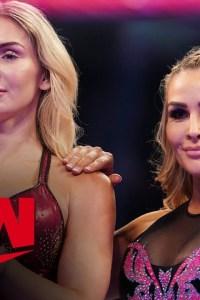 Charlotte Flair & Natalya vs. The IIconics – Raw, Oct 28, 2019