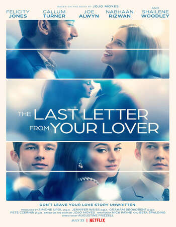The Last Letter From Your Lover (2021) Full Movie