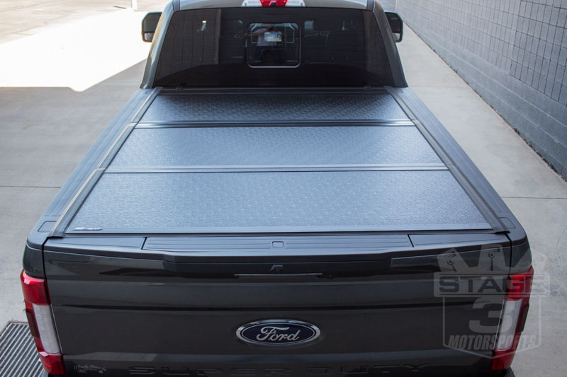 Undercover Flex Tri Fold Tonneau Cover Installed On Our