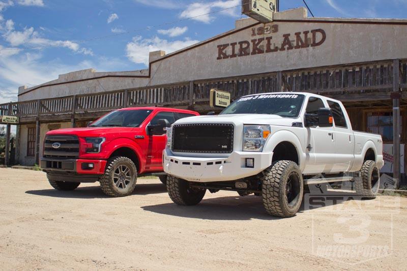 Road Build 4x4 Trucks