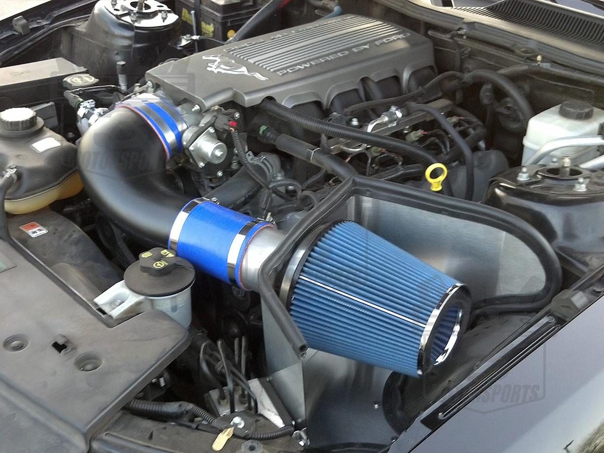 2005-2009 Mustang GT 4.6L Steeda ProFlow Cold Air Intake ...