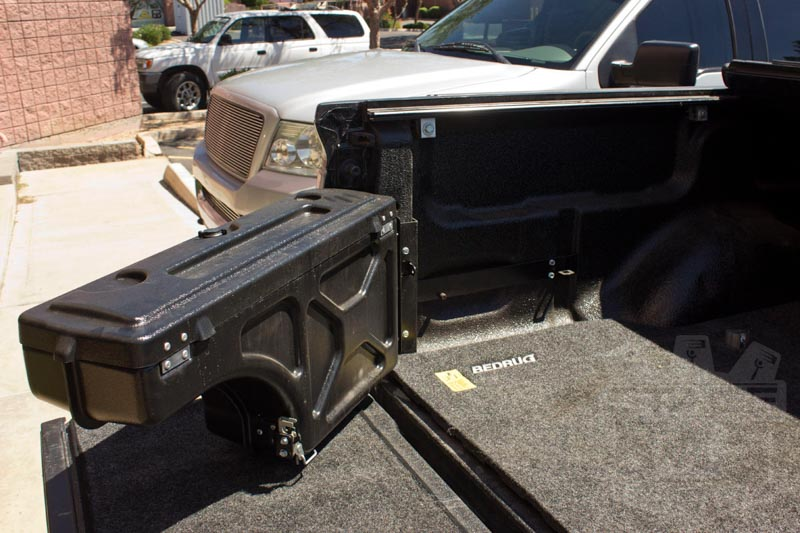 1997 2014 F150 Undercover Swing Case Storage Box Driver