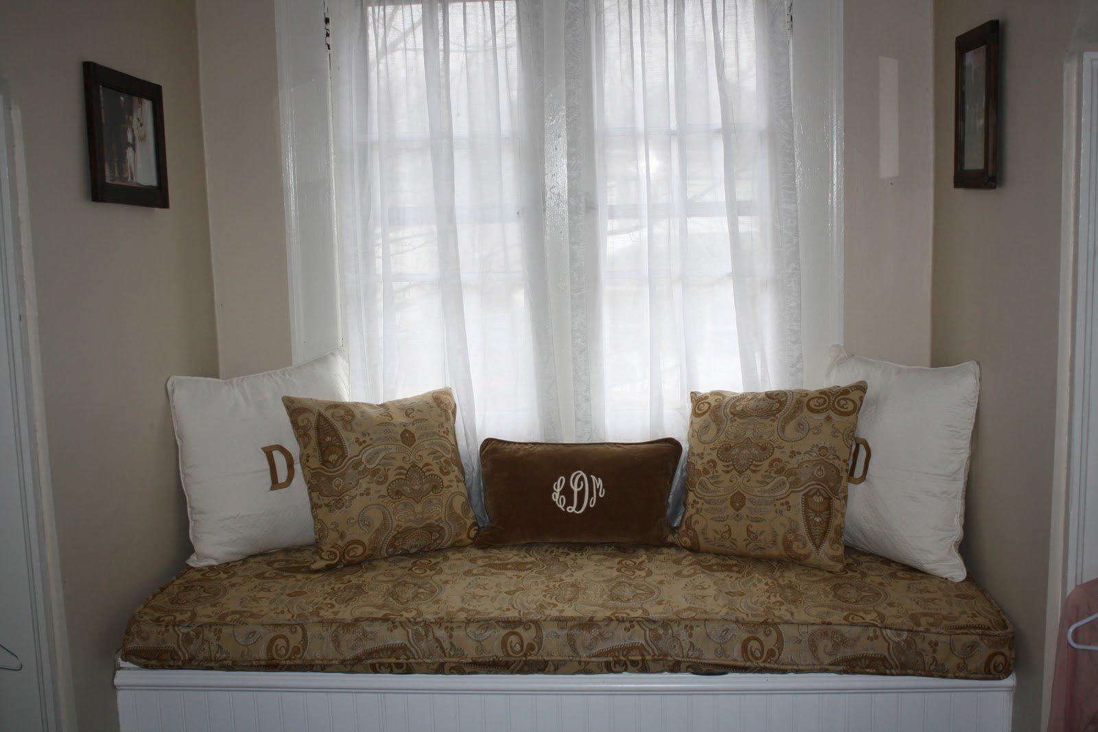 Custom Window Seat Cushions Indoor Home Furniture Design