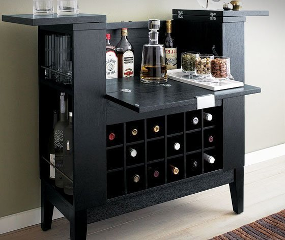 Wine And Liquor Cabinet Home Furniture Design