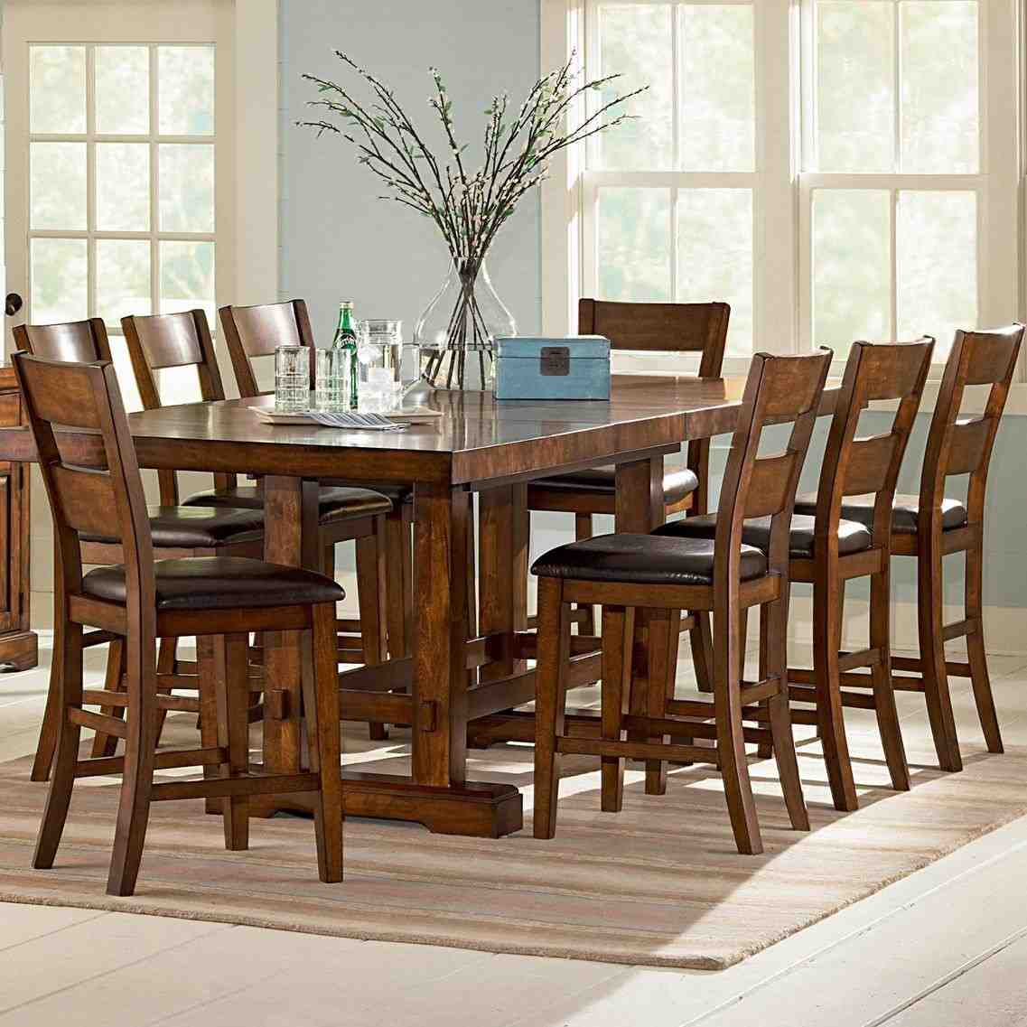 High Dining Table Set