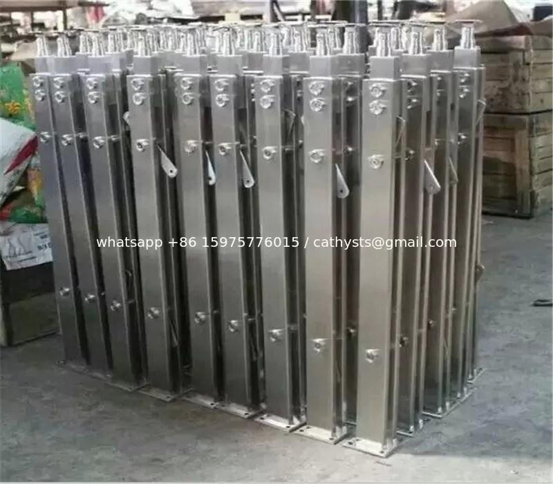 Modern Designs Metal Steel Pipe Stair Stainless Steel Handrail | Exterior Stainless Steel Handrail | Flat Bar | Balustrade | Steel Railing | Mild Steel | Staircase