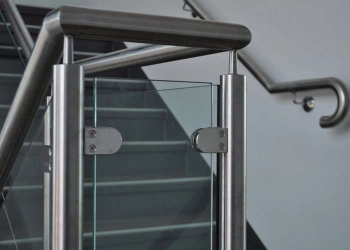 Customized Design Glass Stair Railing Aesthetics Stainless Steel   Stainless Steel Stair Railing   Price   Wall   Outdoor   Vertical   Golden