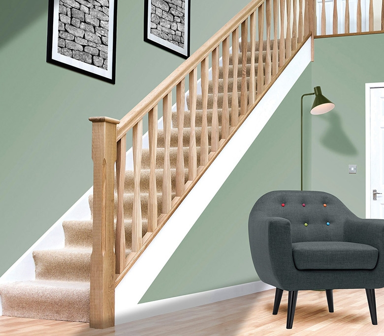 White Oak Handrails For Stairs Stair Parts Online | White Oak Stair Railing