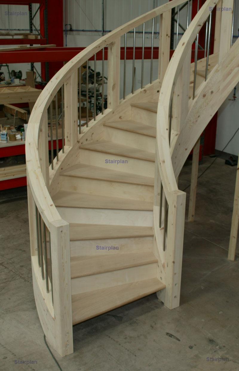 Oak Stair Parts