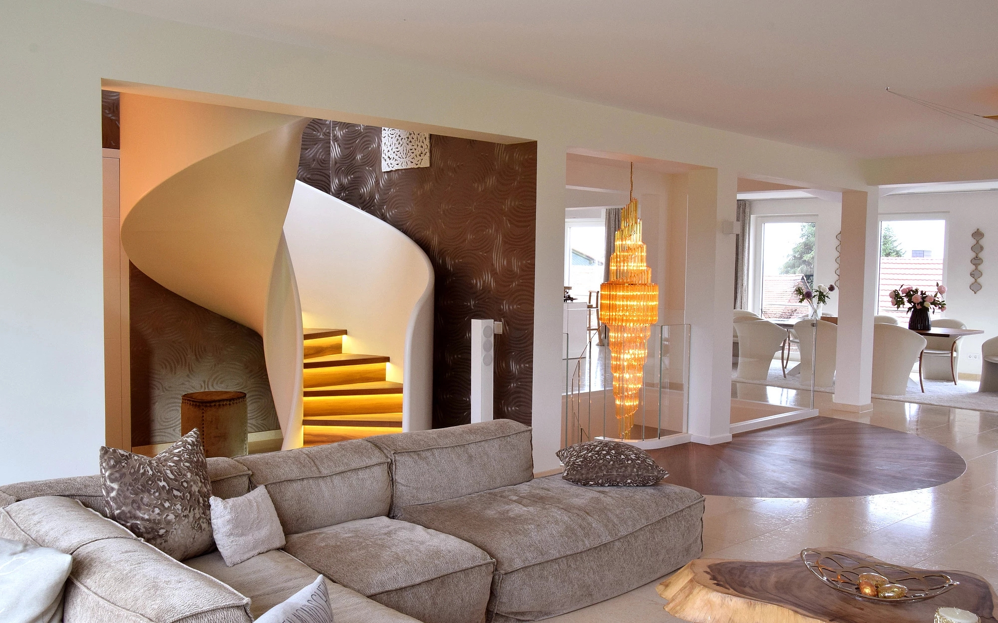 Staircase Design Production And Installation Siller Stairs | House Interior Steps Design | Living Room | White | Architecture | Small | Low Cost