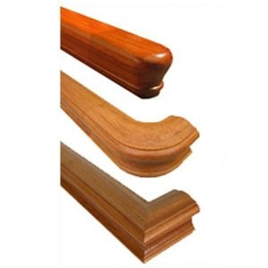 Stair Handrails Wood Metal Bending Handrail For Stairs | Wall Mounted Handrails Wood | Stair Handrail Bracket | Capozzoli Stairworks | Stair Parts | Wood Staircase Handrail | Wrought Iron