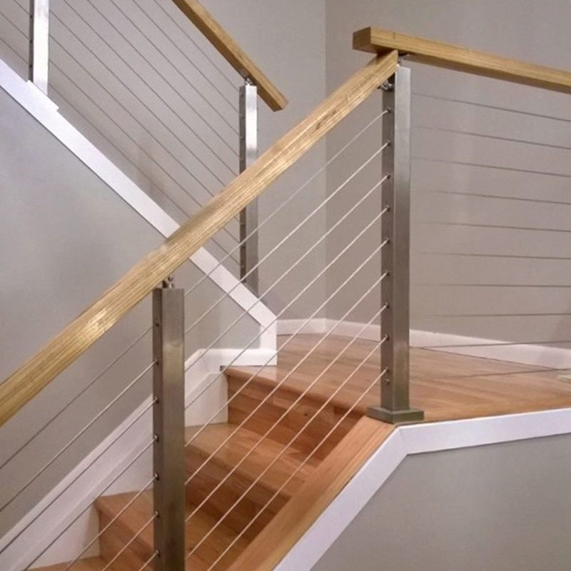 How To Install A Cable Railing System Stairsupplies™ | Cable Stair Railing Diy