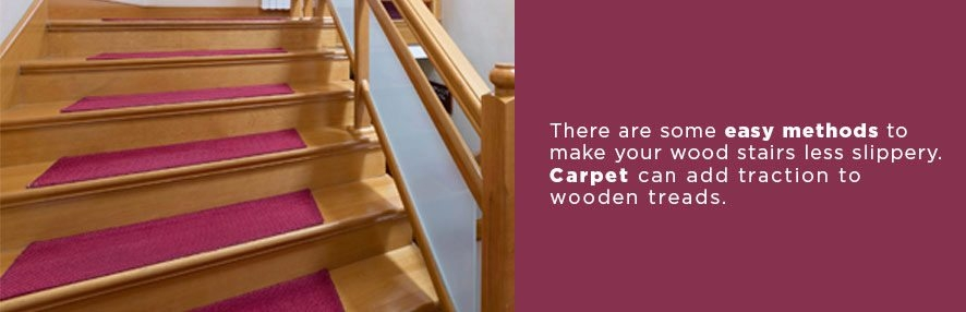 Make Your Wood Stairs Less Slippery Stairsupplies™ | No Slip Strips For Carpeted Stairs | Stair Nosing | Traction | Non Slip Nosing | Slippery Stairs | Tread Nosing