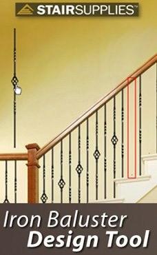 Iron Baluster Design Tool Stairsupplies™ | Wrought Iron Baluster Designs | Rot Iron Staircase | Rod Iron | Metal Rail | Stair Railing | Replacement