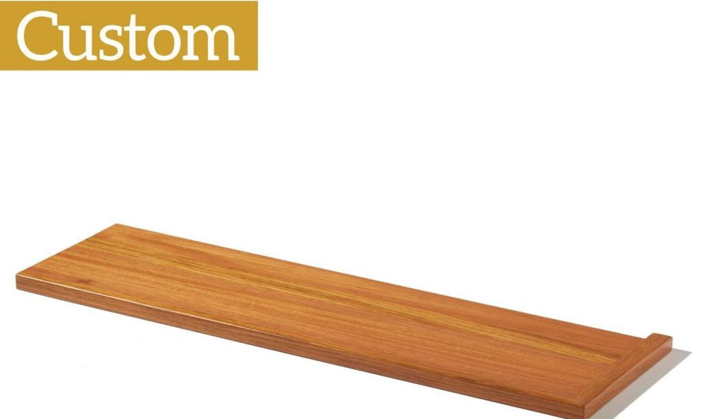 Custom Stair Treads Stairsupplies™ | 48 Inch Red Oak Stair Treads | Stair Parts | Prefinished | Wood | Lowes | Stair Nosing