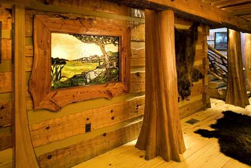 Log Cabin Home Plans A Spectacular Hunter S Haven