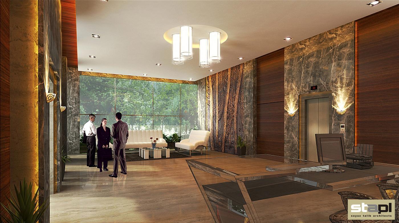 Asian House Lobby Soyuz Talib Architects
