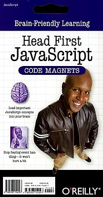 "O'Reilly Media® ""Head First JavaScript Code Magnets"" Book ..."