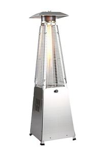 Zen Temp Patio Heaters   Fire Pits   Staples Zen Temp     4 Sided Glass Tube Table Top Patio Heater  ZT PHT