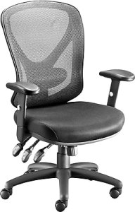 Office Chairs  Buy Computer   Desk Chairs   Staples Staples Carder Mesh Office Chair  Black  24115 CC