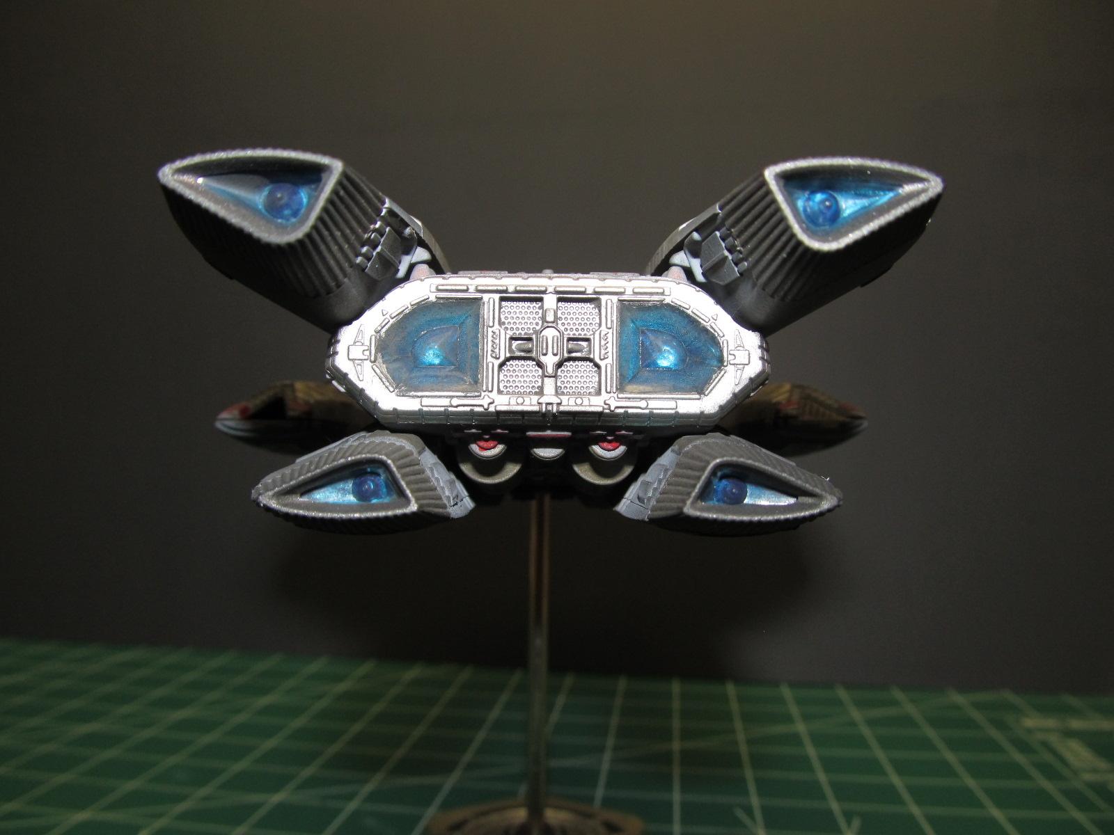Battlestar Galactica Ship Starburst Models
