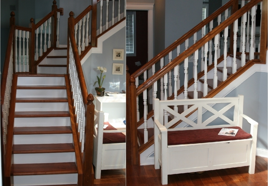 Starecasing Hardwood Stair Overlay System | Changing Carpeted Stairs To Wood | Stair Railing | Wood Flooring | Stair Case | Laminate Flooring | Staircase Makeover