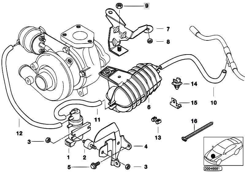 2002 Bmw 325i Vacuum Diagram