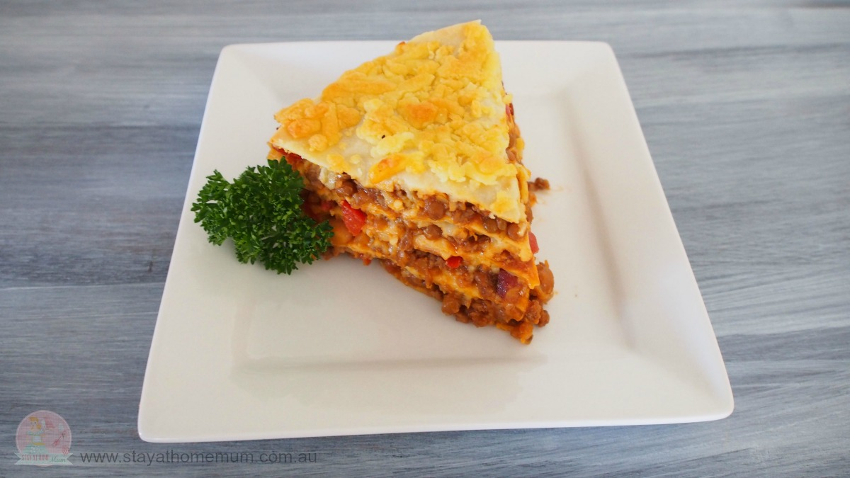 Beef Tortilla Stack Stay At Home Mum