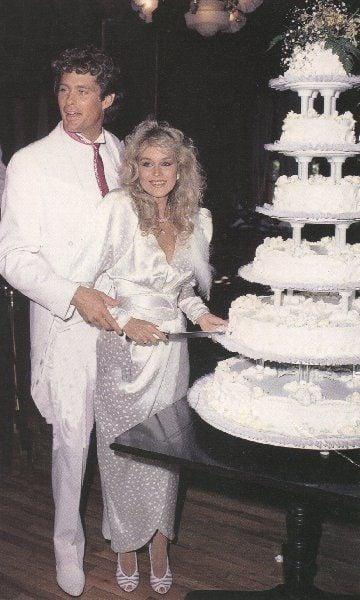 14 Elegant Celebrity Wedding Cakes