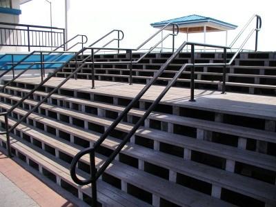 Fabricator Ny Pipe Tubular Steel Hand Railing Stair Railings | Long Island Custom Railings | Wrought Iron | Aluminum Railings | Staircase | Stairs | Porch
