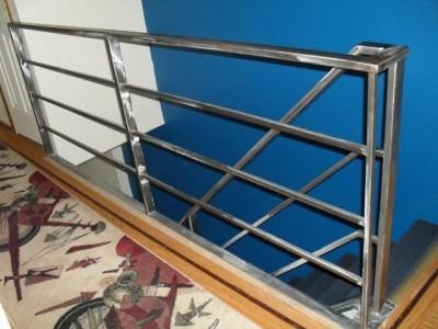 Fabricator Ny Pipe Tubular Steel Hand Railing Stair Railings | Galvanized Pipe Stair Railing | Garden | Industrial | Metal | Used Deck Railing | Interior