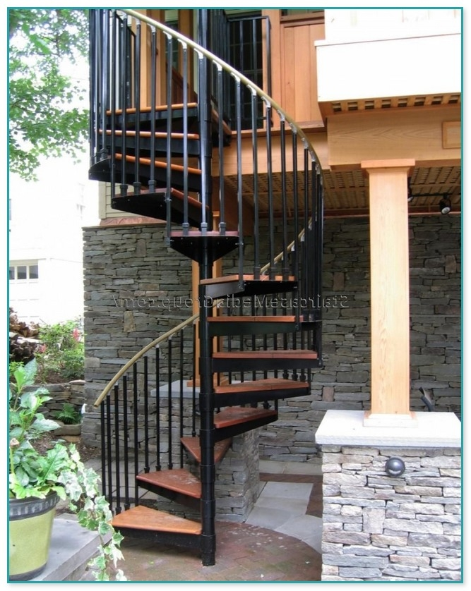 Exterior Spiral Staircase For Sale | Spiral Staircase For Sale