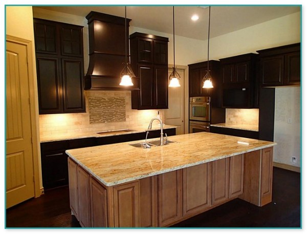 hanging lights over a kitchen island # 81