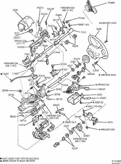 [DIAGRAM] 2002 Ford Ranger Steering Column Diagram FULL