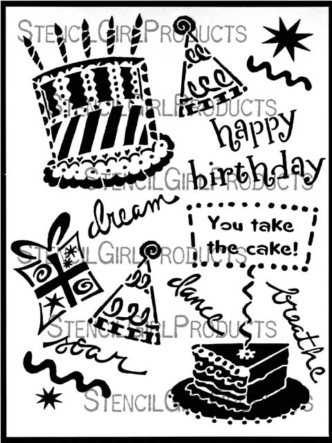 Happy Birthday Cake Jessica