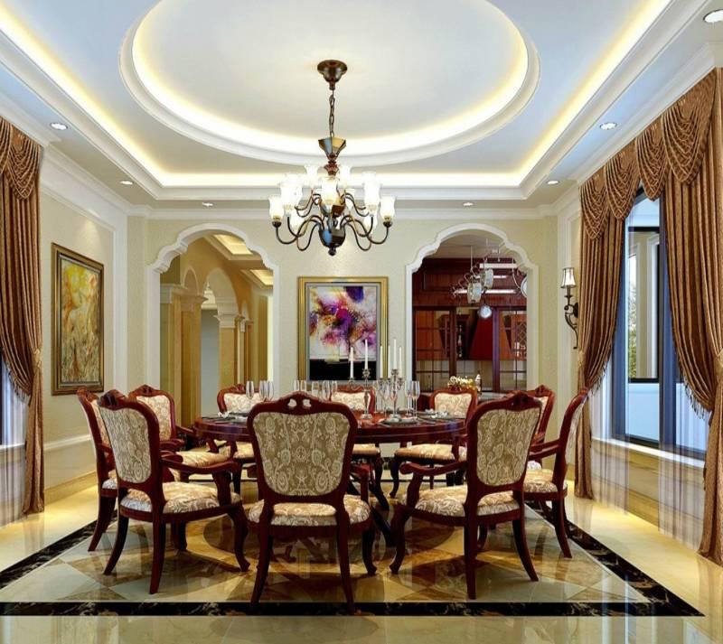 24 Interesting Dining Room Ceiling Design Ideas Interior