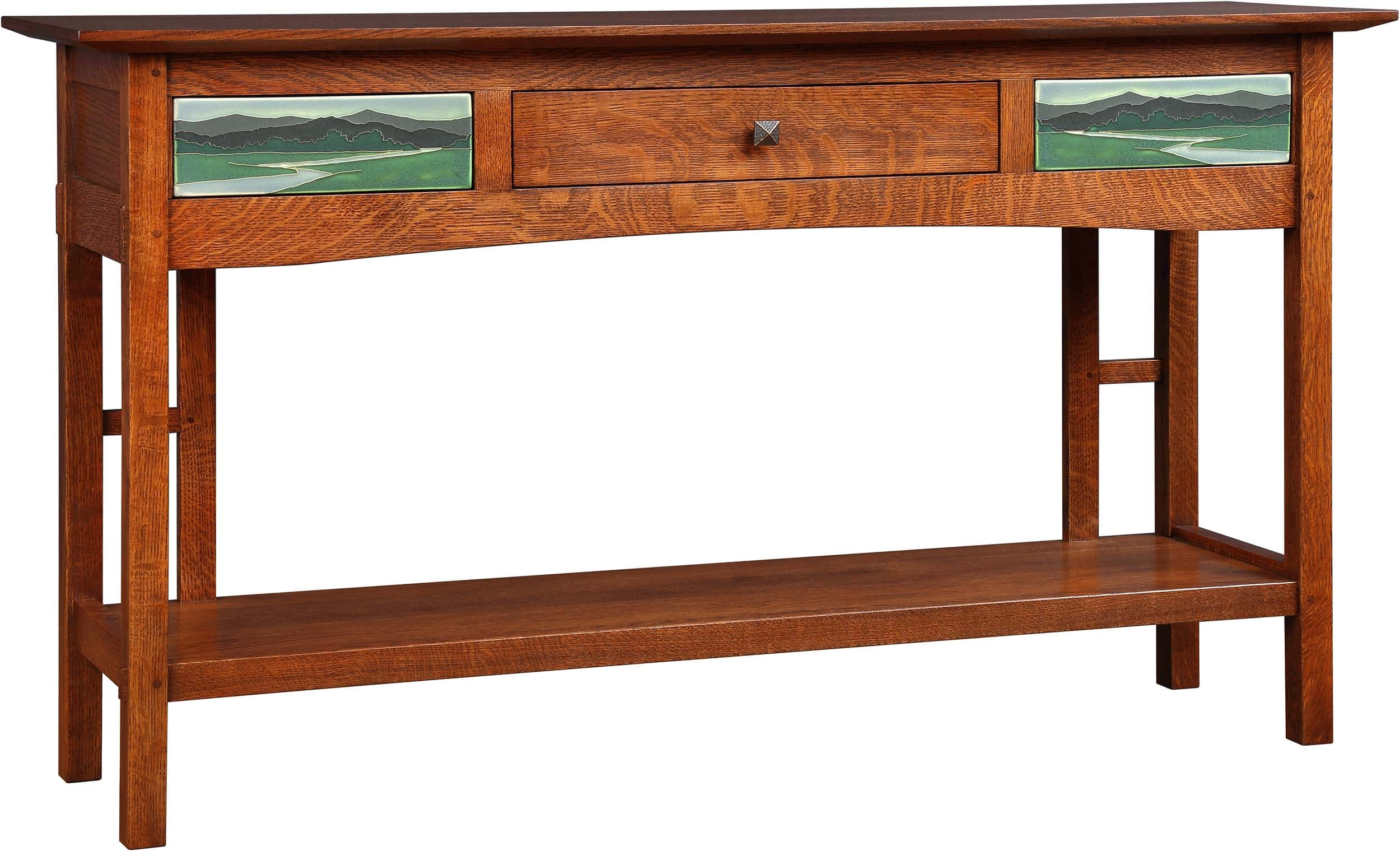 Table Oval Drawer Coffee