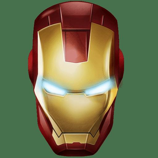 Iron Man Mask transparent PNG - StickPNG
