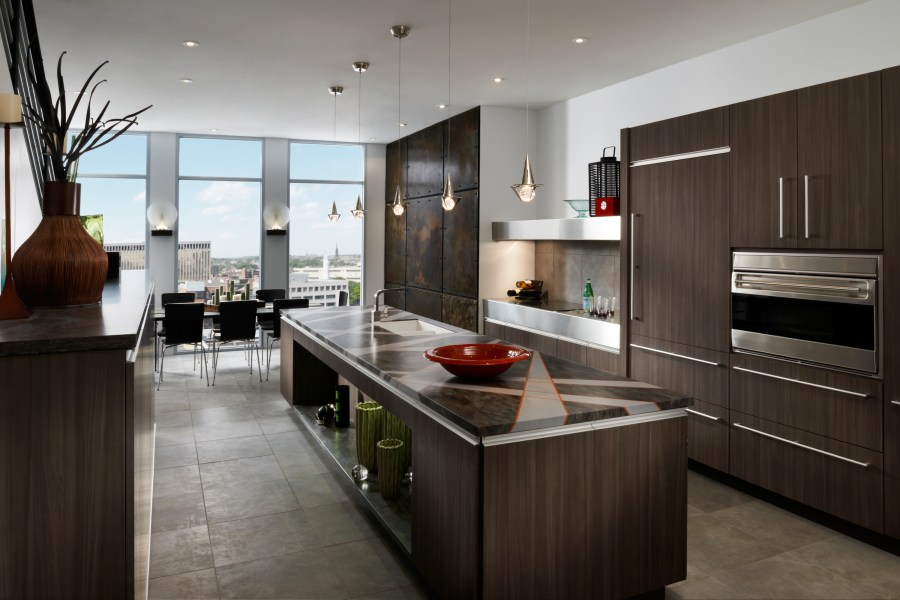 Contemporary Kitchen Cabinetry   ST  LOUIS HOMES   LIFESTYLES Contemporary Kitchen Cabinetry
